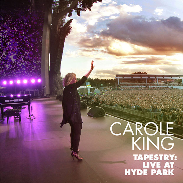 """Carole King - Tapestry: Live at Hyde Park\"" detailed"