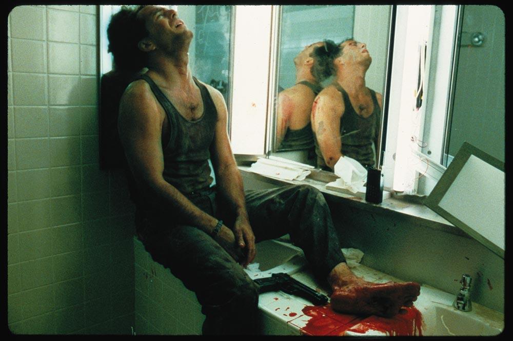 Broken Glass Bruce Willis