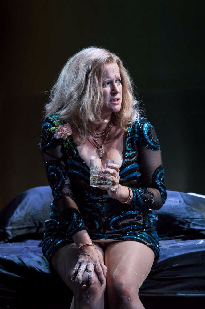 Lisa Palfrey (Big Mama) in Cat on a Hot Tin Roof.