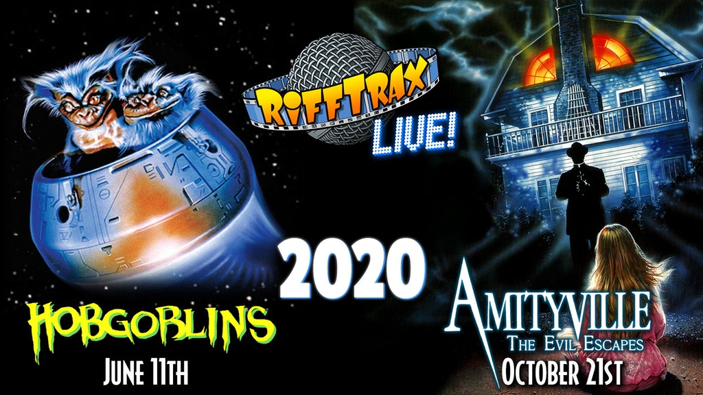 RiffTrax Announces Two Live Shows for 2020