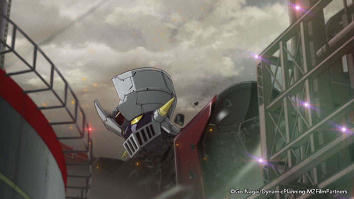 A scene from Mazinger Z: INFINITY