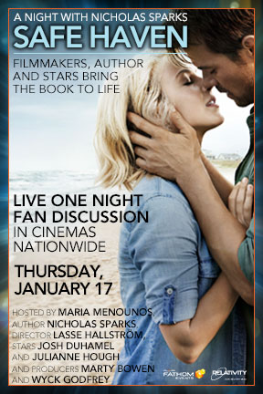 A Night with Nicholas Sparks' Safe Haven