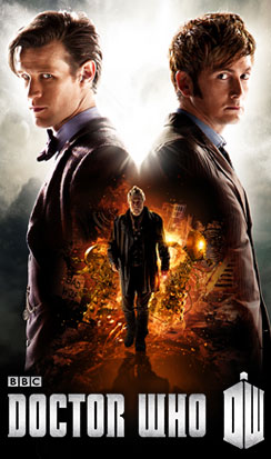 DOCTOR WHO: THE DAY OF THE DOCTOR IN 3D