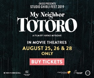 Don't miss My Neighbor Totoro in cinemas 8/25, 26 & 28!