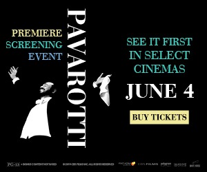 Pavarotti Premiere Screening Event comes to movie theaters for for 1 night only June 4