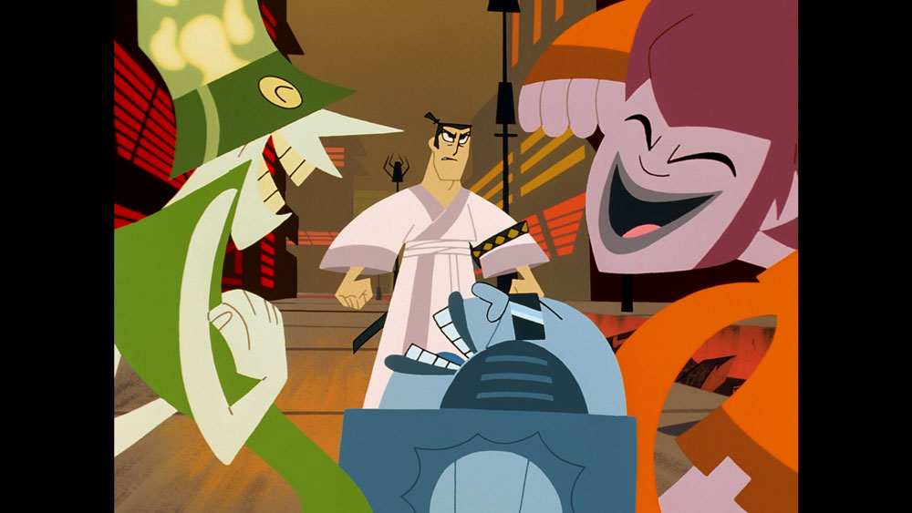 Scene from Samurai Jack: The Premiere Movie Event