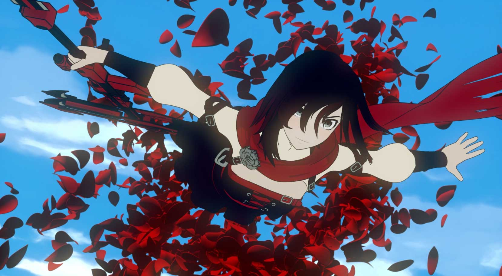 Ruby.  RWBY Volume 5 Premiere. Photo credit: Rooster Teeth for RWBY