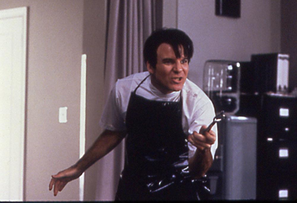 Dentist Orin Scrivello (Steve Martin) in Little Shop of Horrors