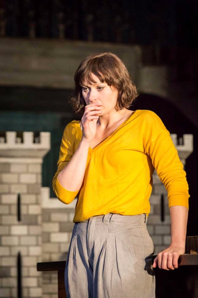 Sian Brooke (Ophelia) in Hamlet
