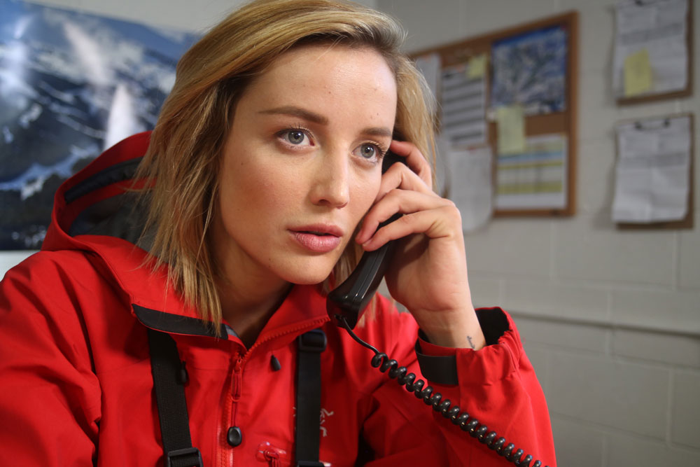 "Sarah Dumont as Sarah in the action/inspirational film ""6 BELOW"" a Momentum Pictures release. Photo courtesy of Momentum Pictures."