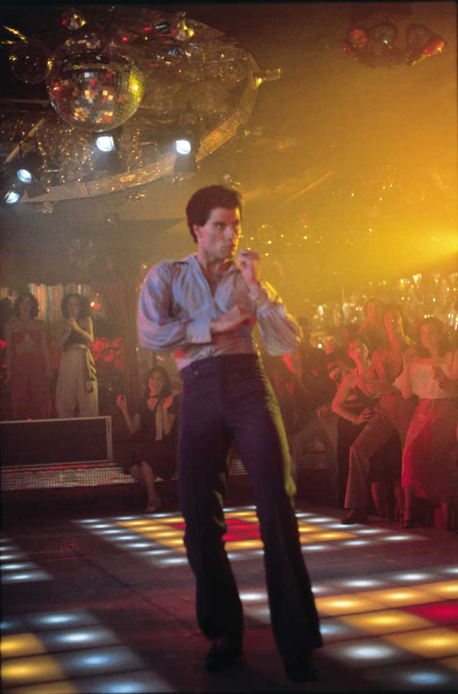 John Travolta as Tony Manero in Saturday Night Fever