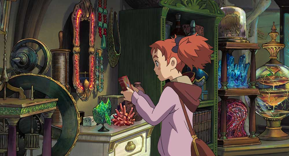 Scene from Mary and The Witch's Flower