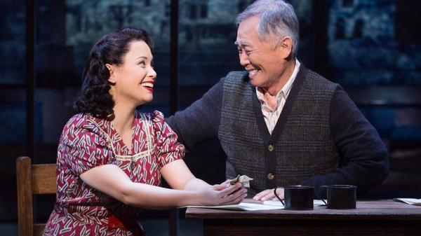 George Takei's Broadway musical 'Allegiance' breaks a theater-screening record - LA Times