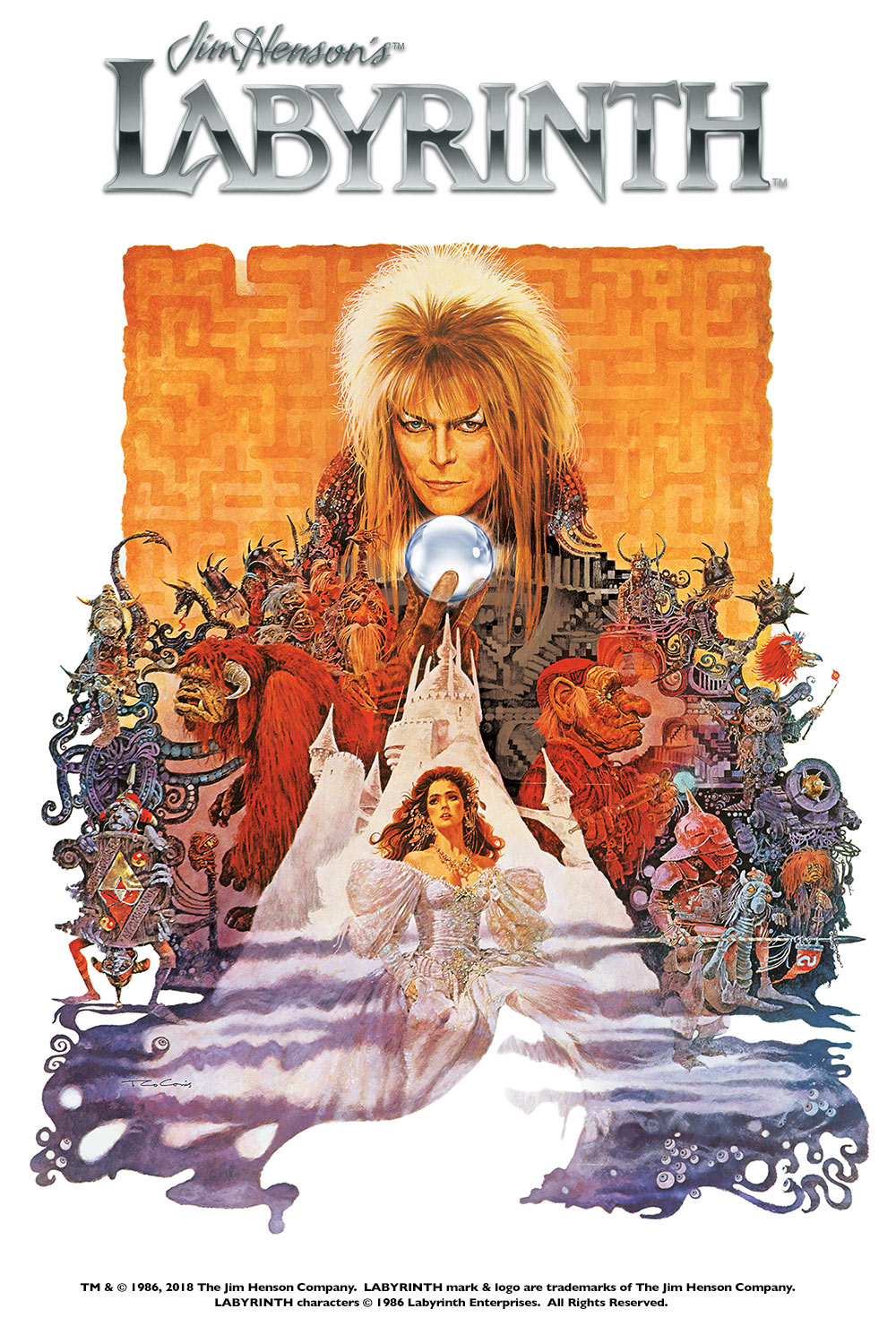 Labyrinth in Movie Theaters | Fathom Events Labyrinth 1986