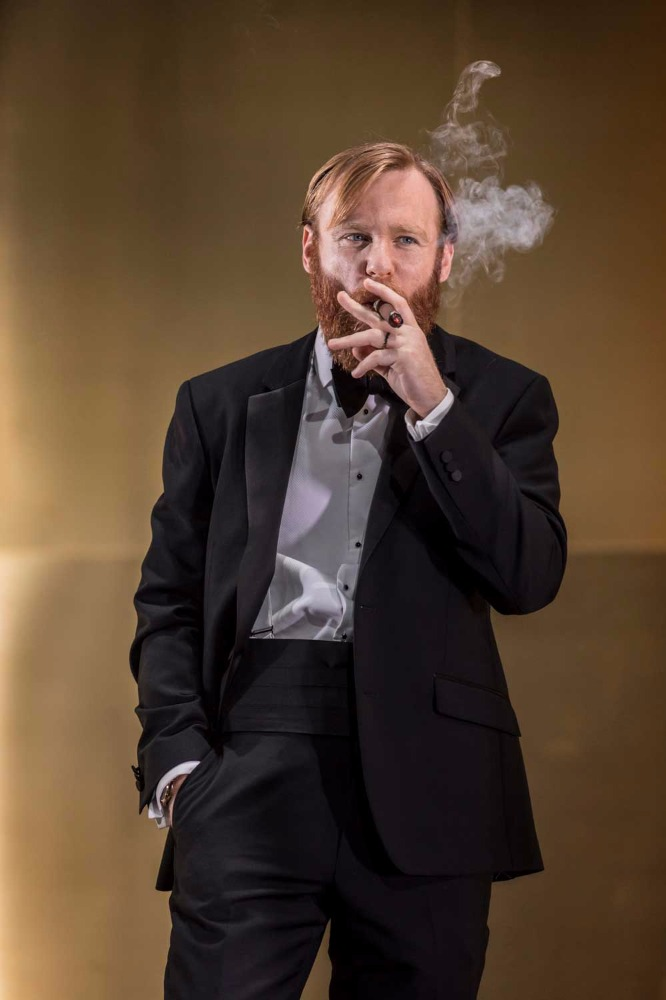 Brian Gleeson (Gooper) in Cat on a Hot Tin Roof.