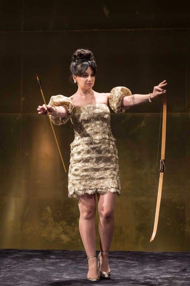 Hayley Squires (Mae) in Cat on a Hot Tin Roof.