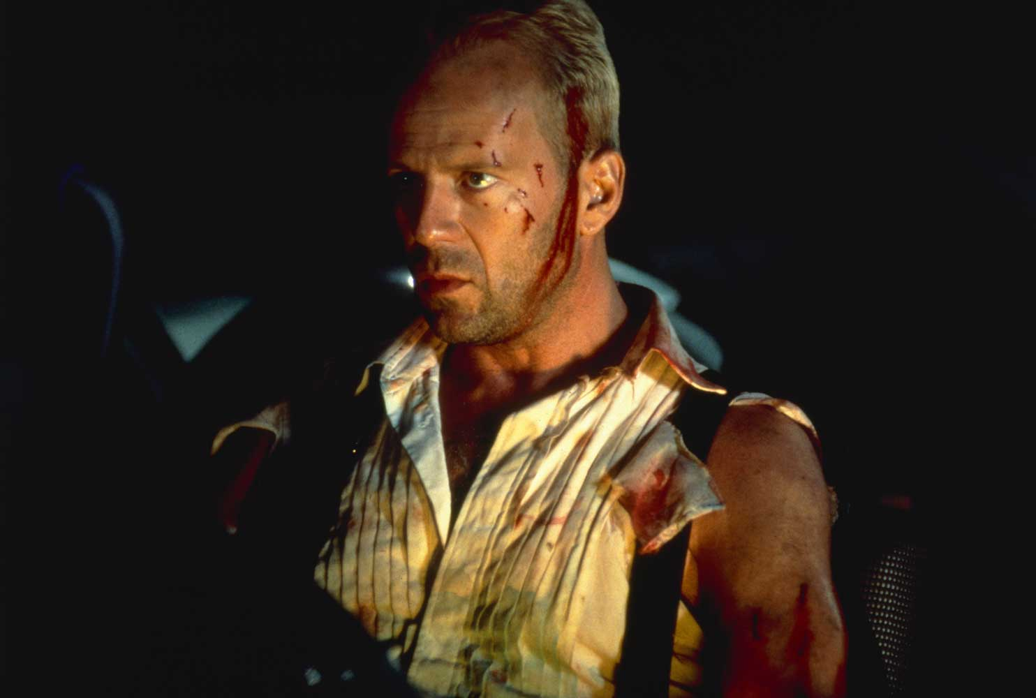 Bruce Willis as Korben Dallas in The Fifth Element (1997)