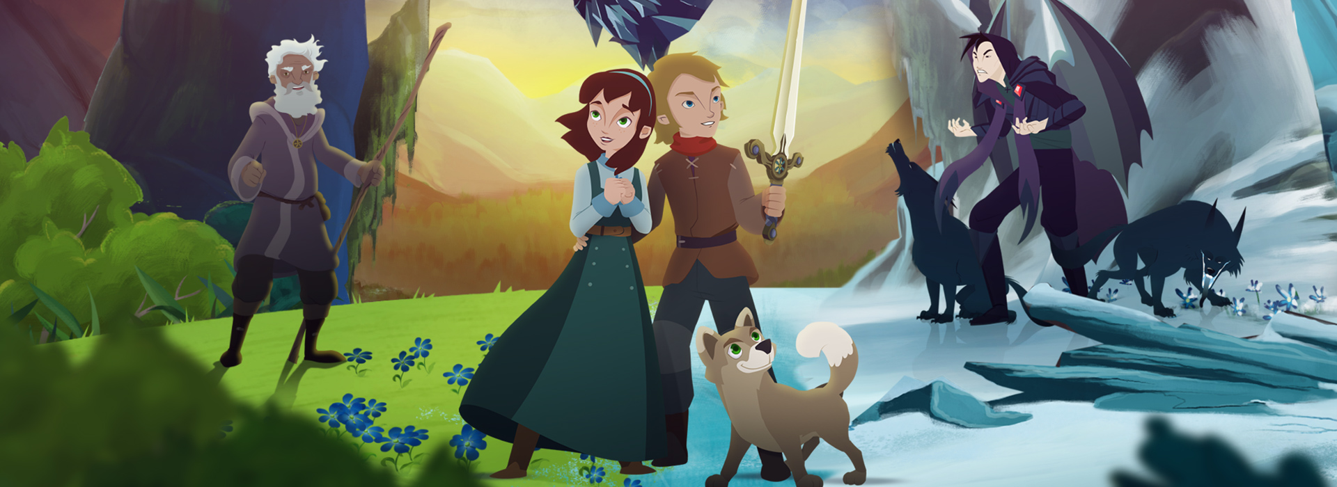 Animated Feature, 'Ice Dragon: Legend of the Blue Daisies,' Blooms on Big Screens Nationwide for a Two-Day Family-Friendly Adventure