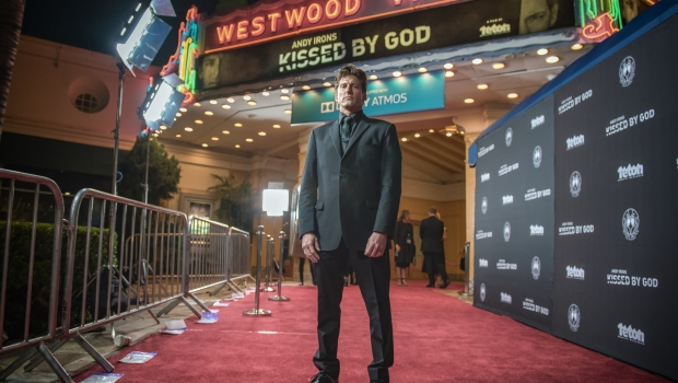 'ANDY IRONS: KISSED BY GOD' PREMIERES TO THE WORLD IN LOS ANGELES