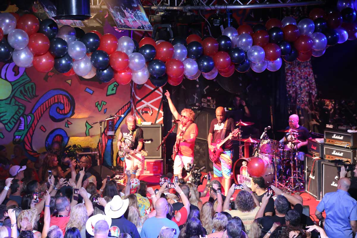 Sammy Hagar's 'Red Til I'm Dead' Birthday Bash