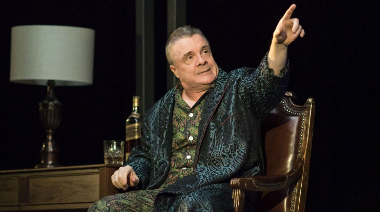 Nathan Lane (Roy M Cohn) in Angels In America - Millennium Approaches