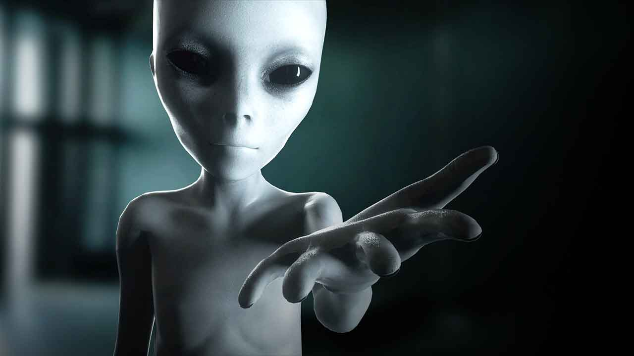 Alien depiction in Alien Intrusion: Unmasking a Deception