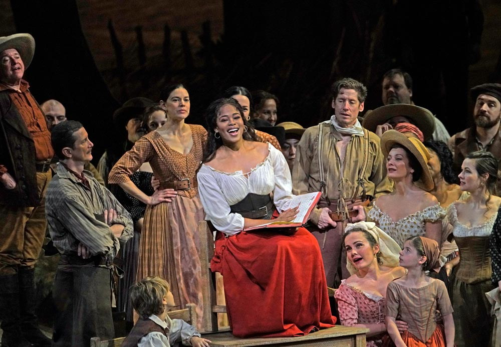 Pretty Yende as Adina in Donizetti's L'Elisir d'Amore