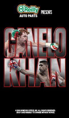 Canelo vs. Khan Live
