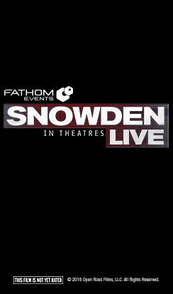 Snowden Live