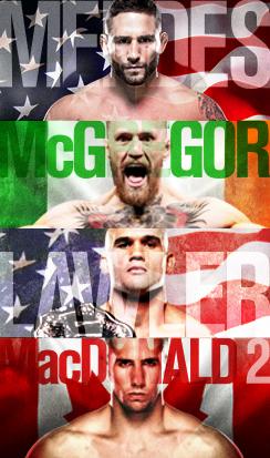 MENDES vs. McGREGOR Live