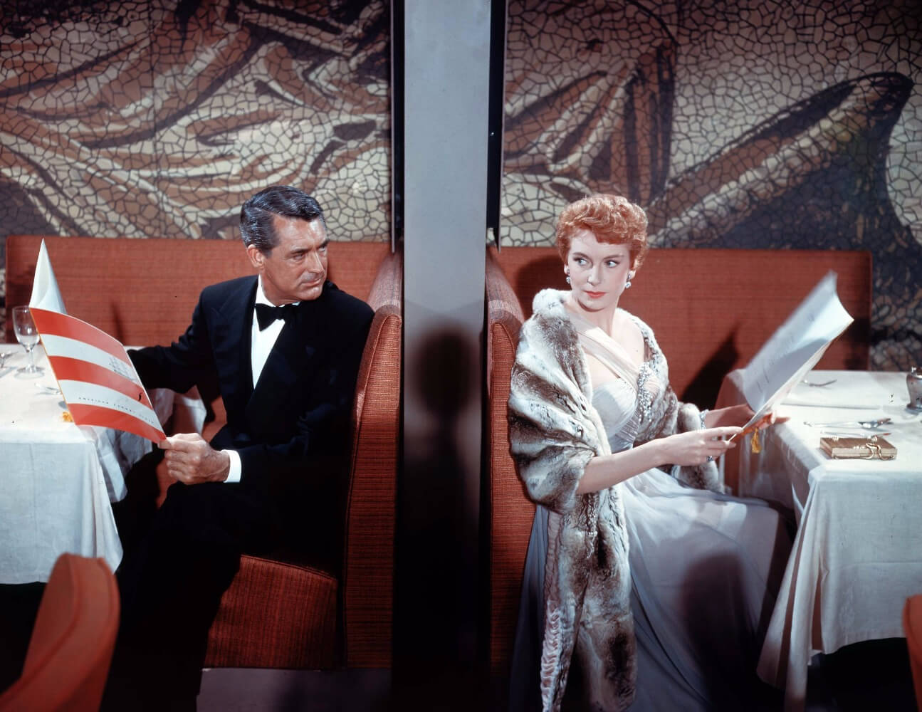 Cary Grant and Deborah Kerr as Nickie and Terry in An Affair to Remember.