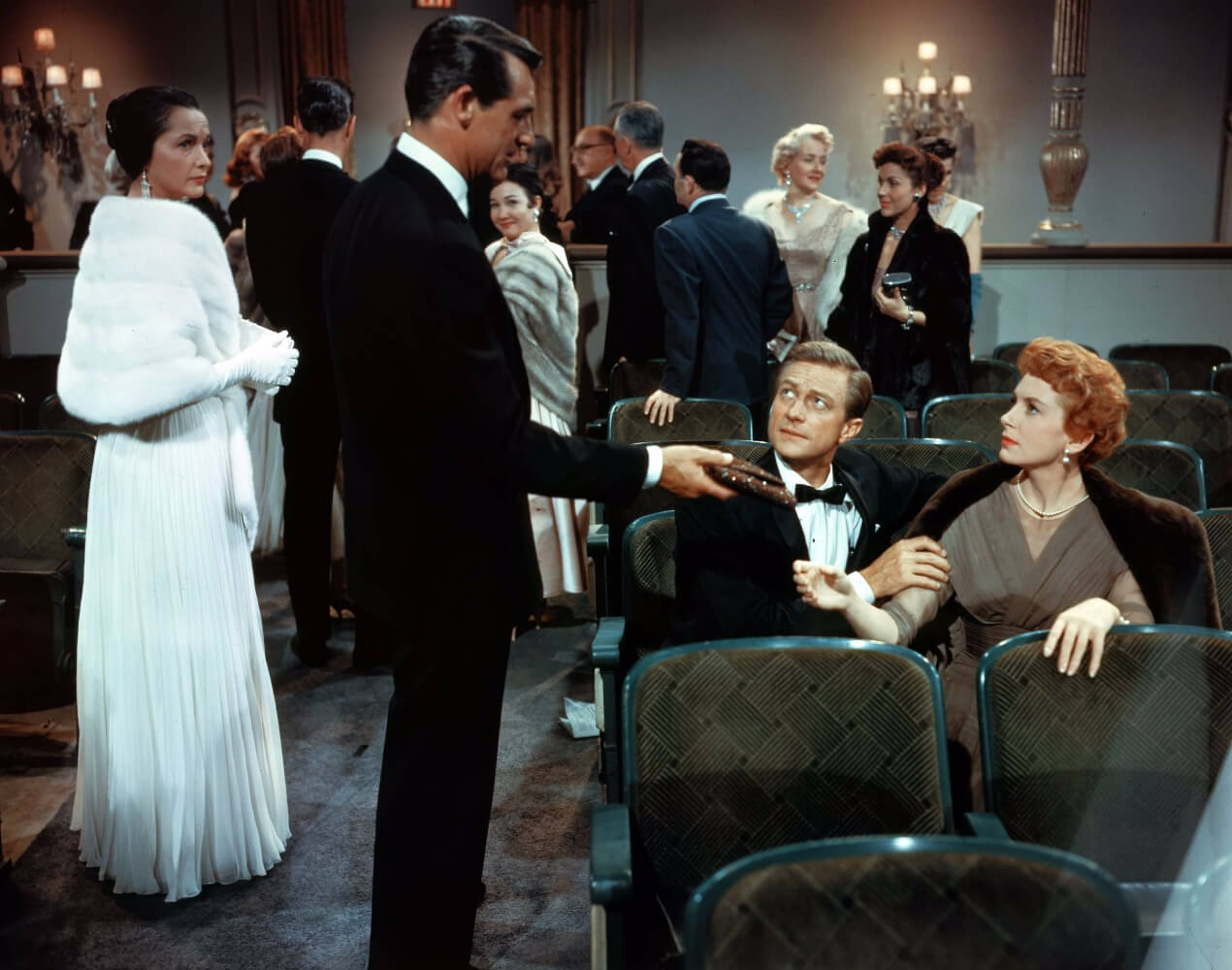 Cary Grant and Deborah Kerr in scene from An Affair to Remember