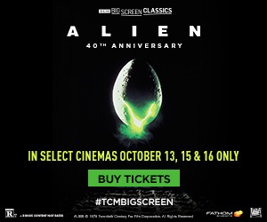 Alien returns to the big screen for its 40th Anniversary 10/13, 15 & 16!