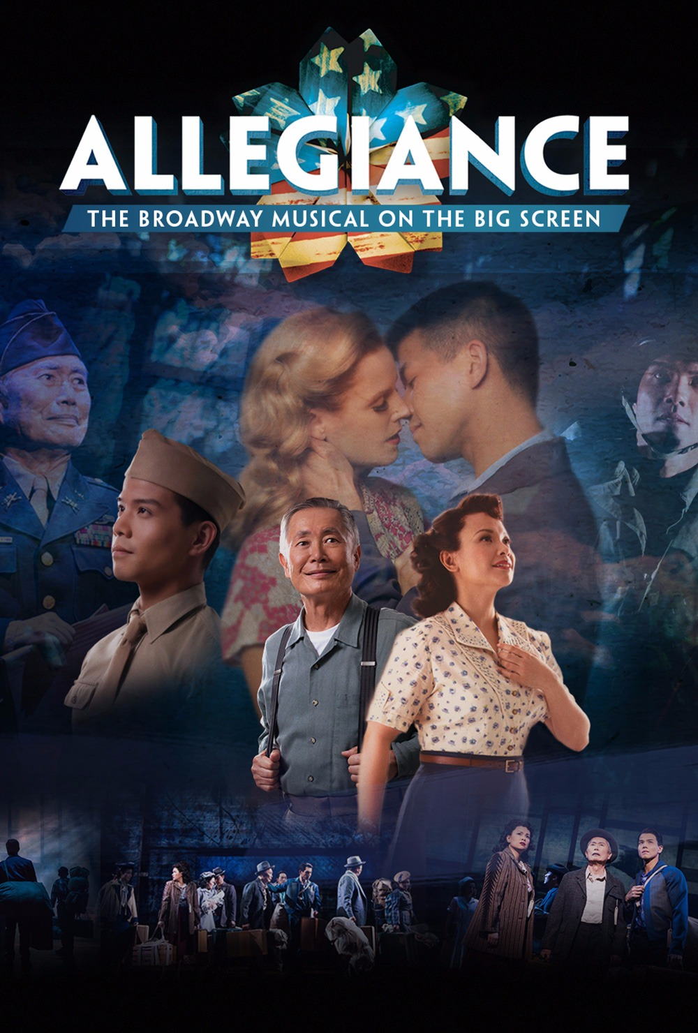 George Takei's Allegiance on Broadway 2017