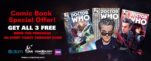 Atom Tickets wants to give you three free comic books!