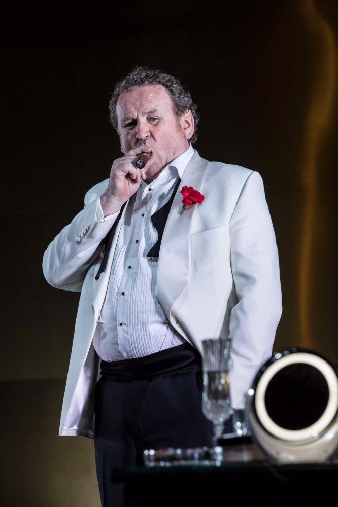 Colm Meaney (Big Daddy) in Cat on a Hot Tin Roof.