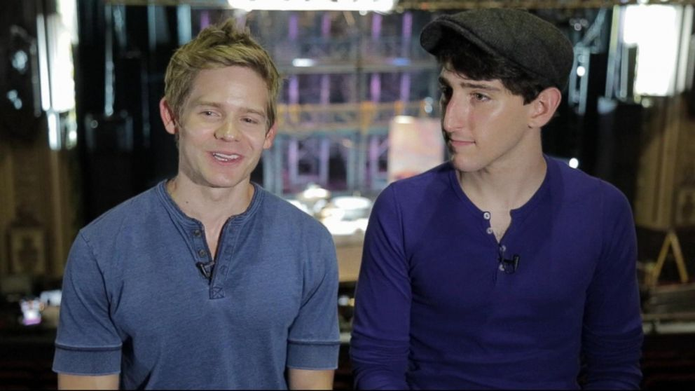 Behind the scenes with 'Newsies' cast filming show live