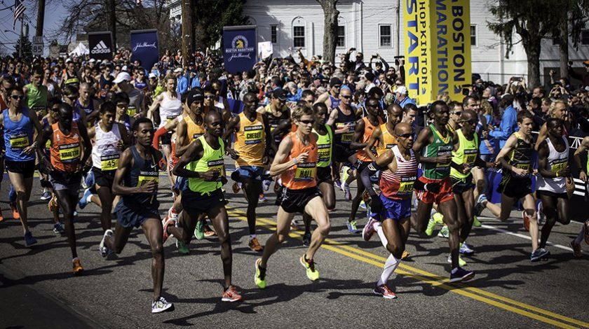 Behind the scenes of Boston: An American Running Story documentary