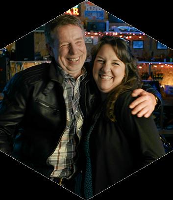 Brian Mosher & Janice Goudie