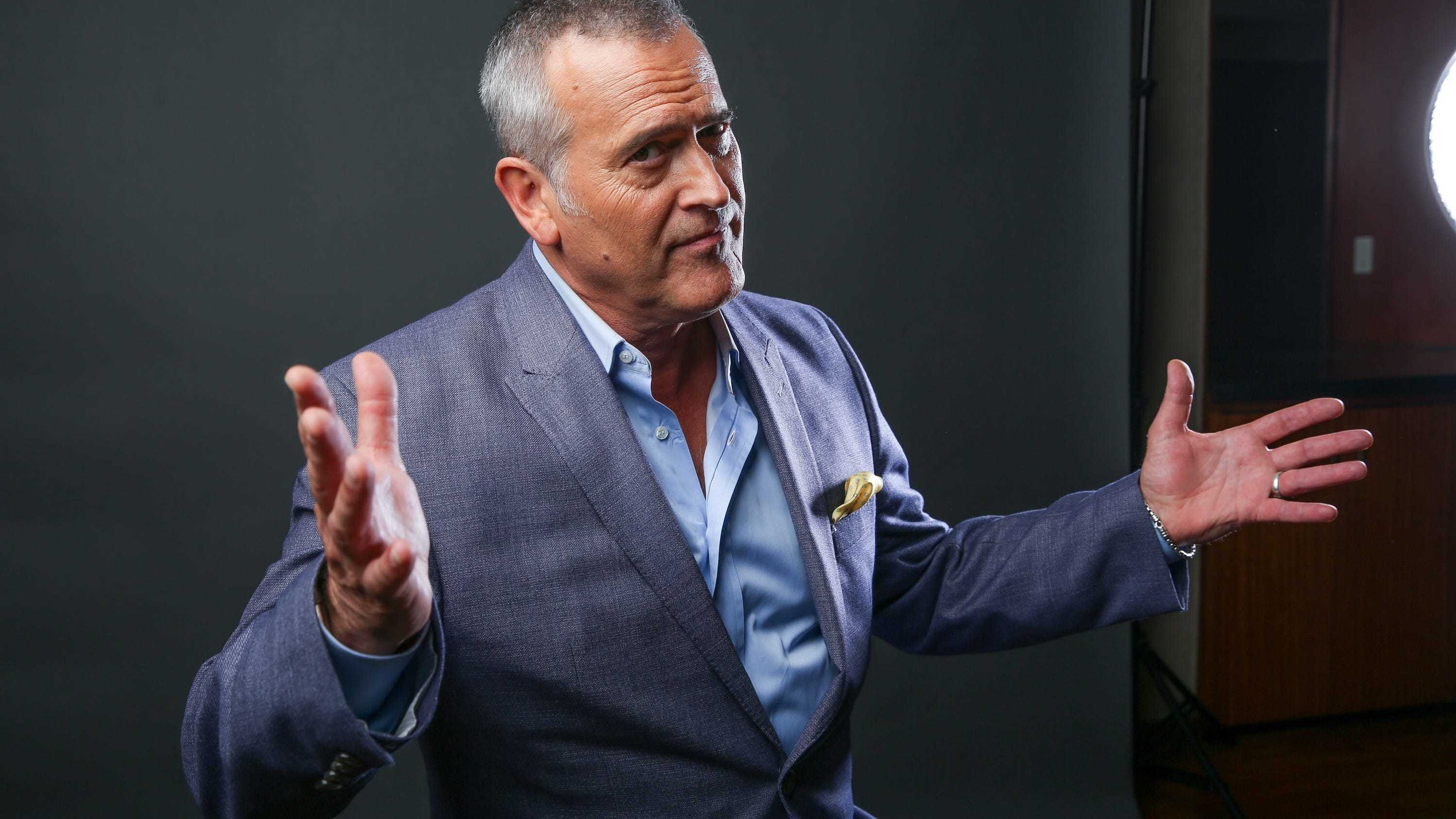 Actor Bruce Campbell opens up about filming 'Evil Dead' as film celebrates 40th anniversary