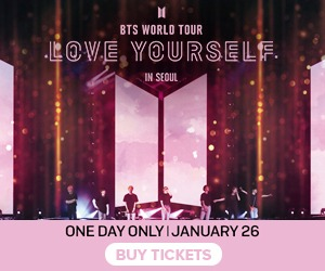 BTS World Tour Love Yourself In Seoul in cinemas 1/26 only!