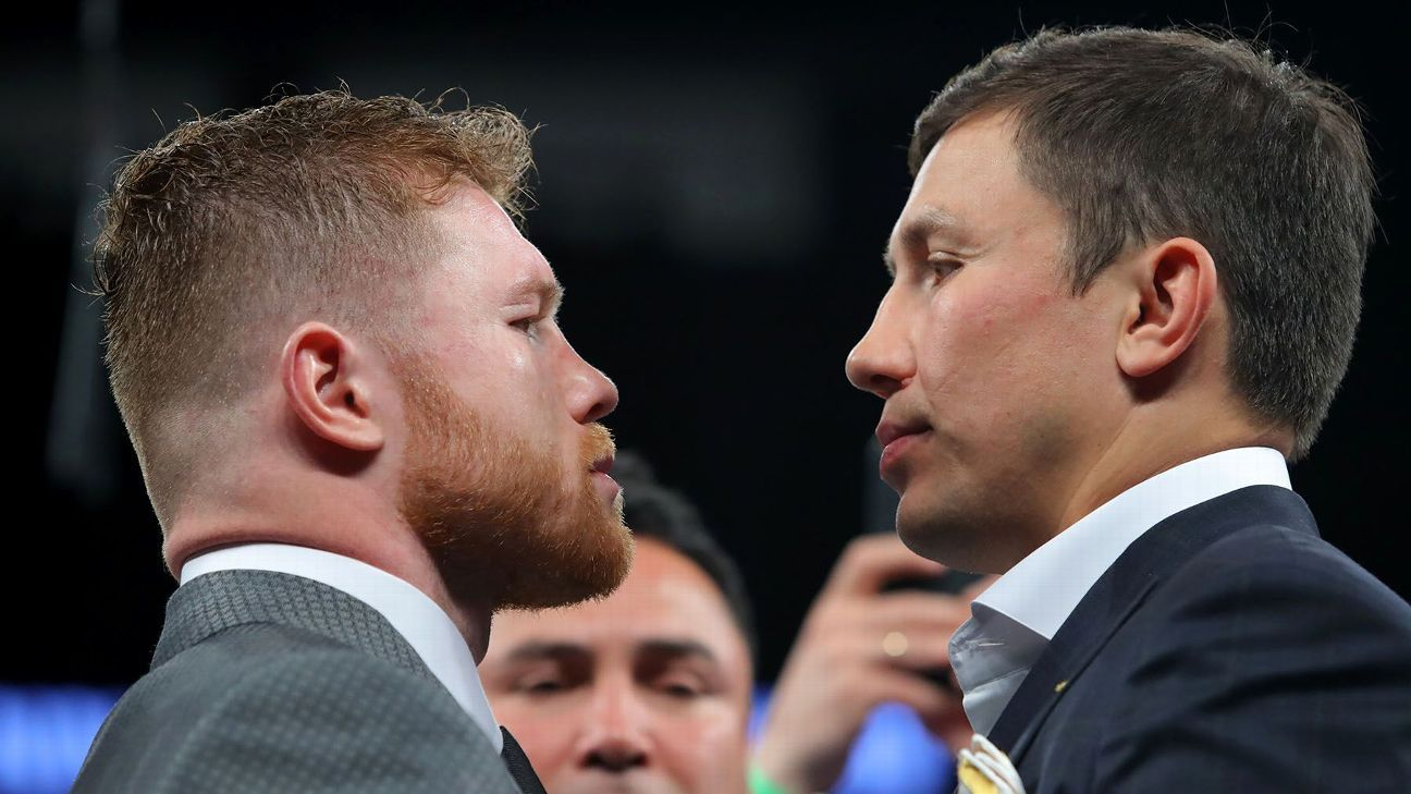 Canelo Alvarez-Gennady Golovkin fight to be shown at movie theaters