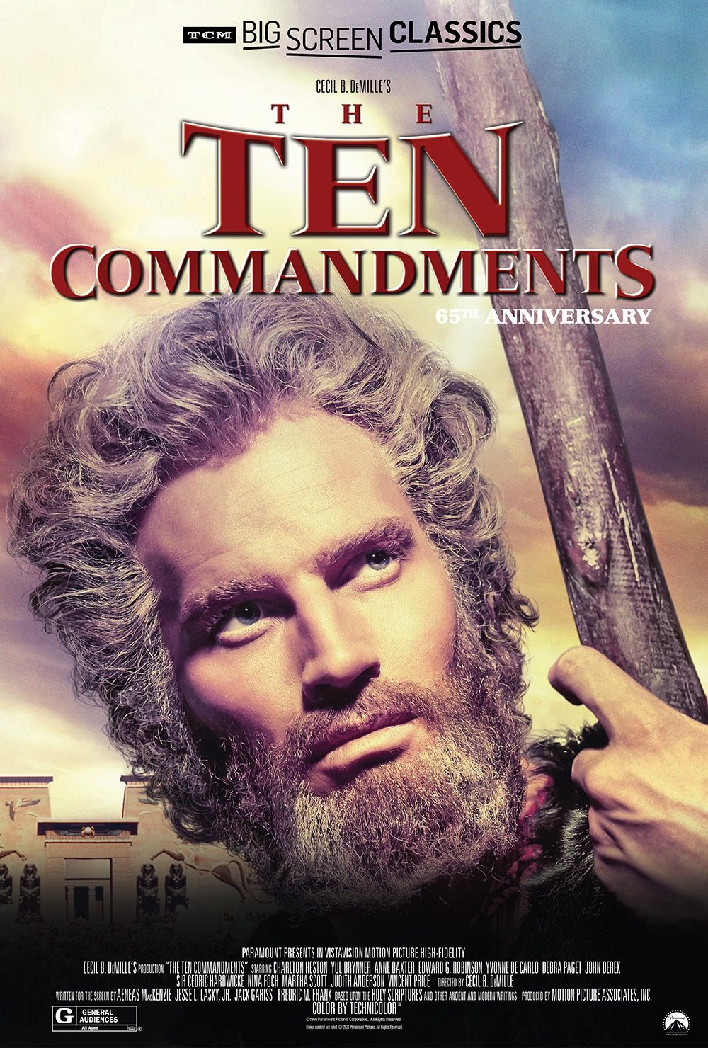 The Ten Commandments 65th Anniversary