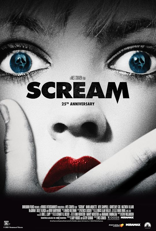 Do You Like Scary Movies? Wes Craven's 'SCREAM' To Return To Theaters For 25th Anniversary!