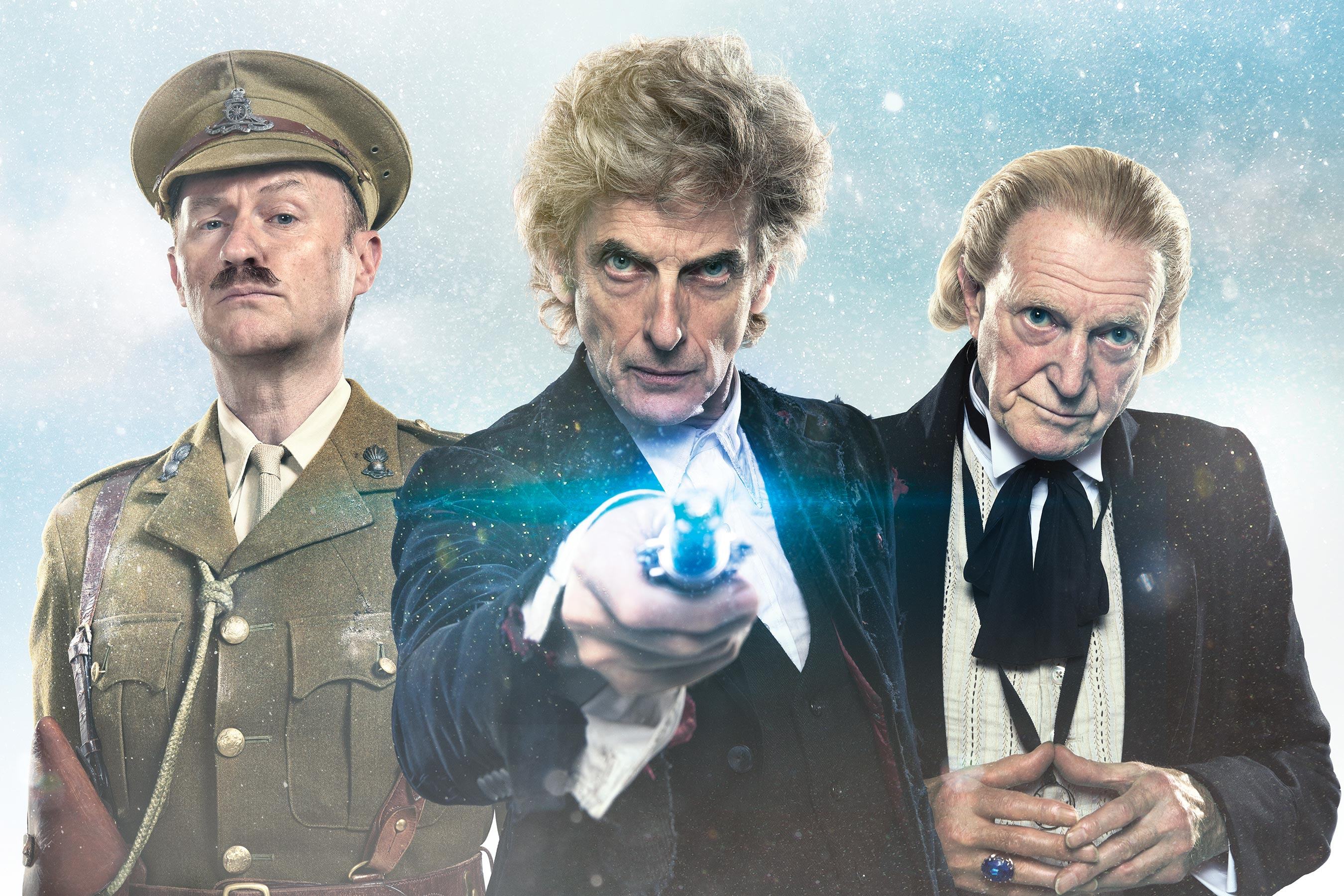 The First Doctor thinks the new TARDIS is 'hideous' in Doctor Who Christmas episode clip
