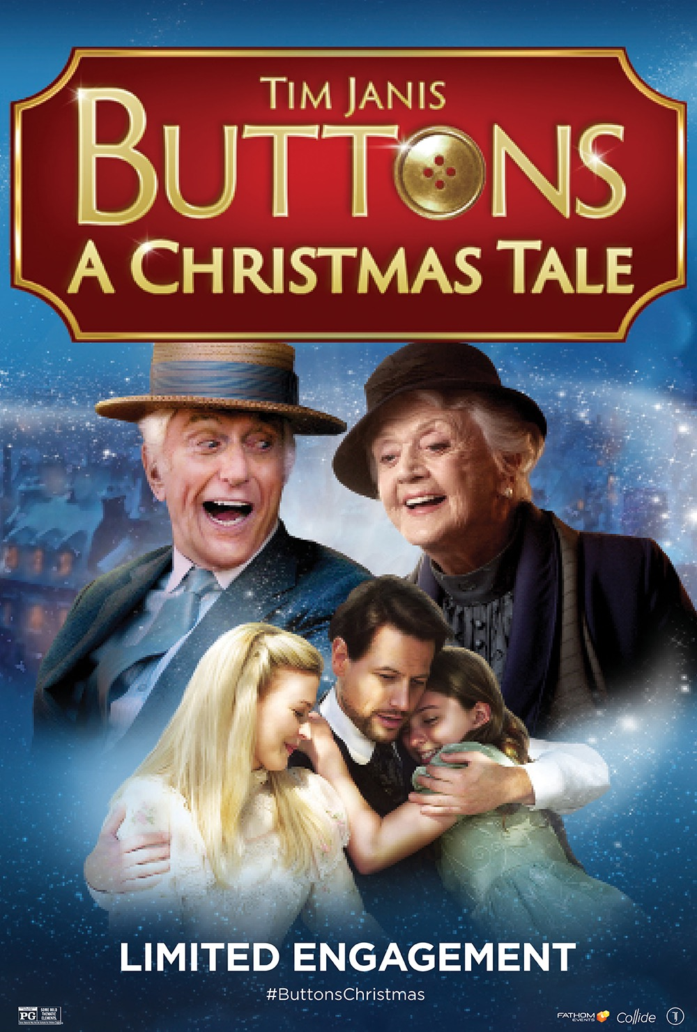 "Family Christmas Film ""BUTTONS: A Christmas Tale"" to Return to Theaters for a Special One-Night Only Event"