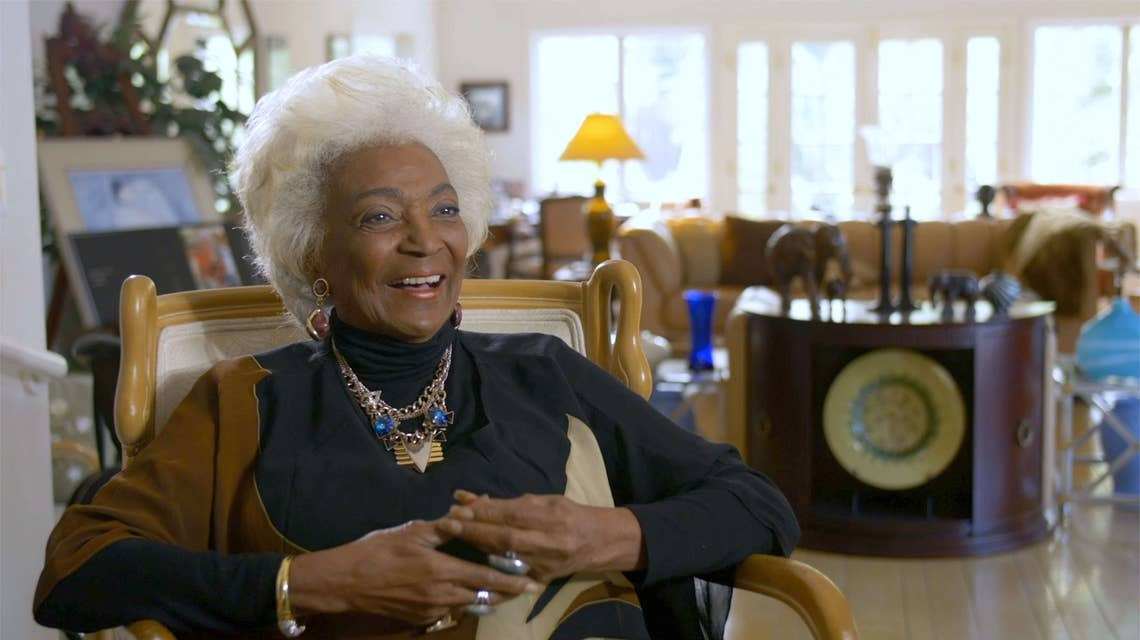 NICHELLE NICHOLS' NASA 'WOMAN IN MOTION' DOC BOLDLY BLASTING OFF FOR 'BLACK HISTORY MONTH'