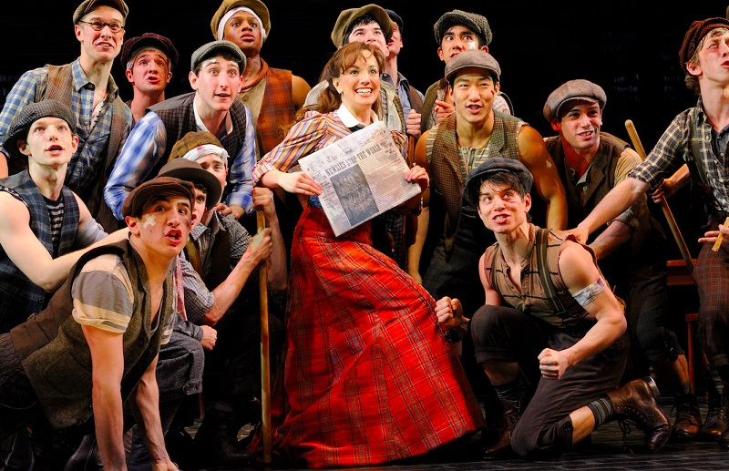 Disney's Broadway smash Newsies will have special cinema showing in 2017   The Disney Blog