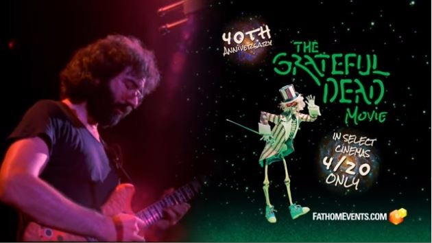 'Grateful Dead Movie' Coming to Theaters for One Night Only
