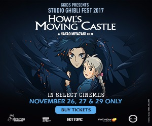 Don't miss the conclusion of Studio Ghibli Fest 2017!